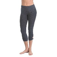 ビヨンドヨガ レディース ヨガ ウェア【Beyond Yoga Twist and Shout Spacedye Capri Legging】Black / Steel