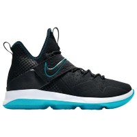 (取寄)ナイキ メンズ レブロン 14 PRM Nike Men's LeBron 14 PRM Black Glass Blue