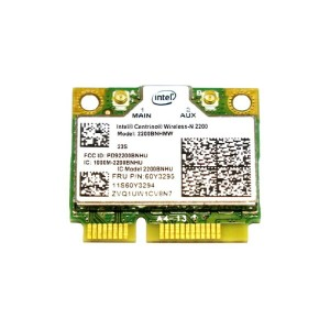 Lenovo純正 60Y3295 Intel Centrino Wireless-N 2200 802.11b/g/n PCIe Mini half 無線LANカード for Thinkpad...
