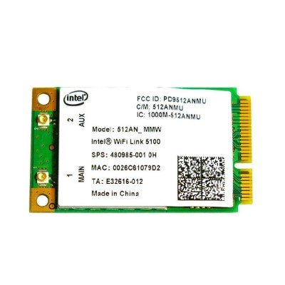 HP純正 480985-001 インテル Intel Wireless WiFi Link 5100 802.11a/b/g/n 300Mbps PCIe Mini 無線LANカード
