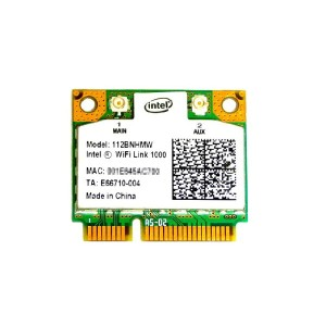 インテル Intel WiFi Link 1000 2.4GHz 802.11b/g/n PCIe Mini half 無線LANカード 112BNHMW