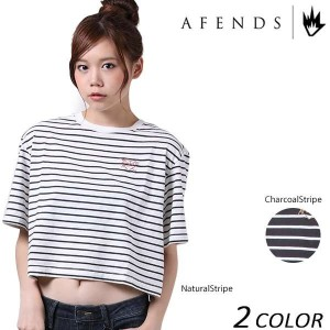 SALE セール 50%OFF レディース 半袖 Tシャツ AFENDS アフェンズ Bento 50-09-030 EE2 F13
