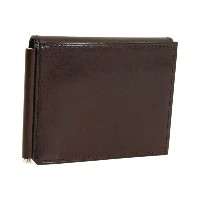 ボスカ メンズ 財布・時計・雑貨 マネークリップ【Old Leather Collection - Money Clip w/ Pocket】Dark Brown Leather