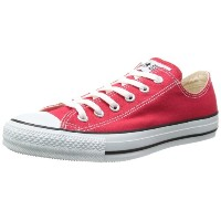 [コンバース] CONVERSE CANVAS ALL STAR OX  RED (レッド/US6(24.5cm))