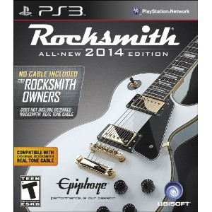 "Rocksmith 2014 Edition - ""No Cable Included"" Version for Rocksmith Owners (輸入版:北米) - PS3"