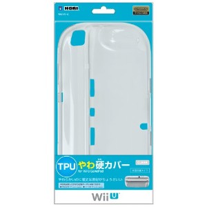 【Wii U】任天堂公式ライセンス商品 TPUやわ硬カバー for Wii U GamePad クリア [ 背面保護タイプ ]