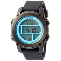 [ニクソン]NIXON UNIT DIVE: BLACK/SKY BLUE/GUNMETAL NA9622238-00 メンズ 【正規輸入品】