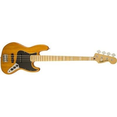 Squier by Fender エレキベース Vintage Modified Jazz Bass® '77, Maple Fingerboard, Amber