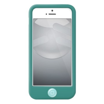 SwitchEasy iPhone 5用シリコンケース Colors for iPhone 5 Turquoise ターコイズ SW-COL5-TU