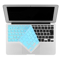 Bluevision キーボードカバー Typist 2012 for MacBook Air 11-JIS Blue ブルー BV-TYPST12-AIR-BL