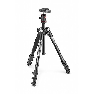 Manfrotto コンパクト三脚 Befree アルミ ボール雲台キットNEWデザイン グレー MKBFRA4GY-BH