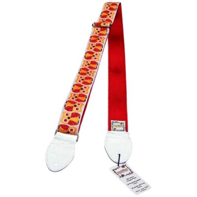 Souldier Straps ソルジャー ギター ストラップ Owls/Red GS010