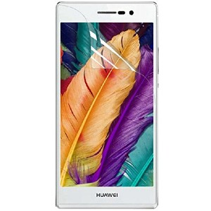 Huawei Ascend P7専用 指紋防止 気泡が消える液晶保護フィルム「528-0010-01」