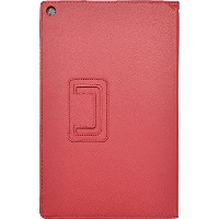 PLATA Xperia Z2 Tablet SO-05F / SOT21 / SGP511JP ケース カバー レザー スタンド 【 レッド 赤 red 】 DSO05F-70RD