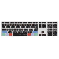 KB Covers Logic Pro X QWERTY キーボードカバー Apple Ultra-Thin キーボード w/ Num Pad