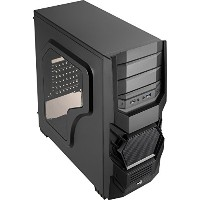 AeroCool エアロクール PCケース Cyclops Advance Black(ブラック) EN55163