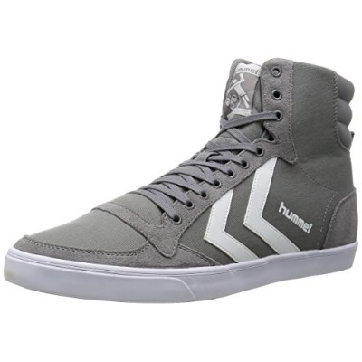 [ヒュンメル] hummel スニーカー SLIMER STADIL CANVAS HIGH HM63111K 2094 (FRONT GREY/41)