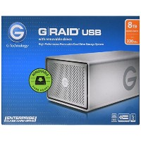 G-Technology (HGST) G-RAID USB G1 Removable 8TB USB3.0対応 外付けハードディスク 【3年保証】  0G04072AZ