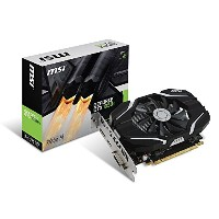 MSI GeForce GTX 1050 Ti 4G OC グラフィックボード VD6191