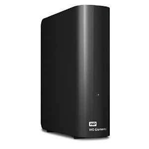 WD HDD 外付けハードディスク 4TB Elements Desktop USB3.0 WDBWLG0040HBK-JESN / 3年保証