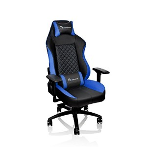 Thermaltake ゲーミングチェア Tt eSPORTS GT Confort Gaming chair -Black&Blue- FT0008 GC-GTC-BLLFDL-01