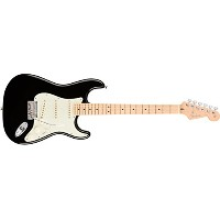 Fender フェンダー エレキギター American Professional Stratocaster Maple BLK