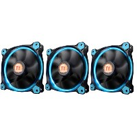 Thermaltake Riing 12 - Blue LED -3pack- PCケースファン FN1075 CL-F055-PL12BU-A