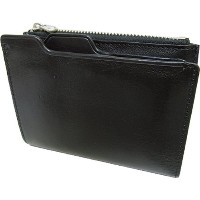 UPPER WEST 折りたたみ財布 COW LEATHER WALLET BK UWT313 [正規代理店品]
