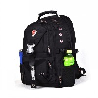 Swiss Gear 15&quot  Laptop Backpack Notebook Rucksack Hiking Travel Shoulder Bag