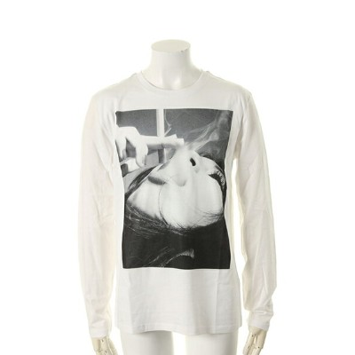 【30%OFFセール|11,880円→8,316円】 NO COMMENT PARIS ノーコメントパリ【Japan Limited】 smoke L/S{NC-LTM.LTN02-WHT-AGS}