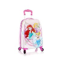 (Heys International) Heys Disney Princess Spinner Suitcase - Carry On Lug.gage