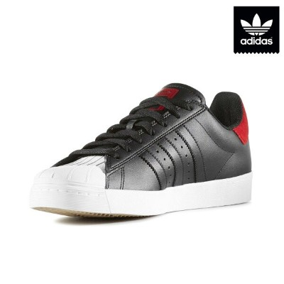 adidas Originals SUPERSTAR VULC ADV(アディダス スーパースター ヴァルカ ADV)(Core Black/Scarlet/Running White)【メンズ...