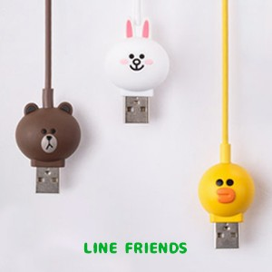 【Line friends】ラインフレンズiPhone用8ピンケーブル/Line friends 8 Pin cable for iPhone/3種・韓国LINE FRIENDS正品