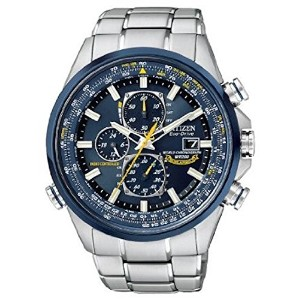Citizen シチズン シチズン Men's AT8020-54L Eco-Drive Blue Angels World Chronograph クロノグラフ A-T Watch 男性用 メンズ...