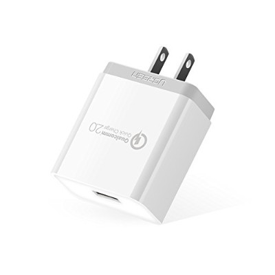 UGREEN USB 急速充電器 Quick Charge 2.0 18W ACアダプター Qualcomm認証済 Xperia X Performance、Xperia z3、Asus...
