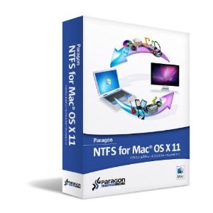 Paragon NTFS for Mac OS X 11+HFS+ for Windows 10 シングルライセンス(メディアキット込)