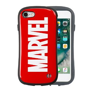 iFace First Class MARVEL iPhone8 / 7 ケース 耐衝撃 / ロゴ / レッド