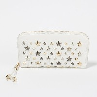 (ジミーチュウ) JIMMY CHOO 財布 長財布 FILIPA LTR 080298 WHITE/METALLIC MIX [並行輸入品]