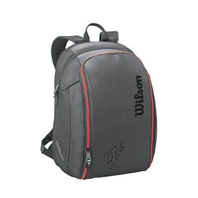 Wilson(ウイルソン) テニスラケットバッグ FEDERER DNA BACKPACK (フェデラー DNA バックパック) 2本収納可能 WRZ832796