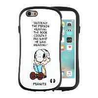 iPhone6s iPhone6 ケース 耐衝撃 スヌーピー PEANUTS iface First Class 正規品 / チャーリー・ブラウン