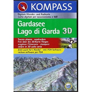 Gardasee / Lago di Garda. CD-ROM für Windows 95/98/2000/NT/XP. Routenplaner: Digitale Ourdoorkarte....