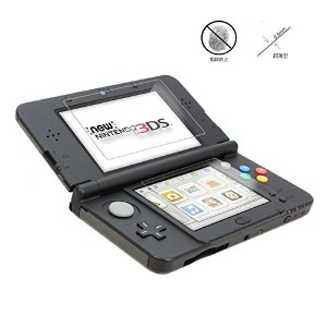New 3DS LL対応,液晶保護シート,フィルム for NEW ニンテンドー3DS LL