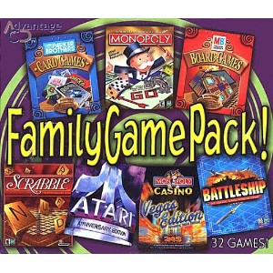Family Game Pack (32 Titles Collection) (輸入版)