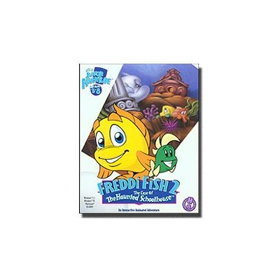 """Freddi Fish 2 """"The Case of the Haunted Schoolhouse"""" (It's a Junior Adventure for Kids 3-8) (輸入版)"""