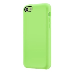 SwitchEasy iPhone 5c用シリコンケース Colors for iPhone 5c Green グリーン SW-COL5C-GN