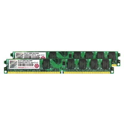 Transcend デスクトップ用 DDR2 メモリー PC2-6400 240pin DIMM 4GB (2GB×2pcs) JM4GDDR2-8K