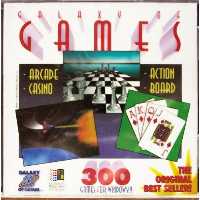 Galaxy of Games (Over 300 Arcade, Casino, Action, Board & More) (輸入版)