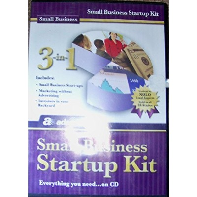 Small business startup kit (Everything you need...on CD) (輸入版)