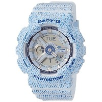 [カシオ]CASIO 腕時計 BABY-G DENIM'D COLOR BA-110DC-2A3JF レディース
