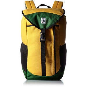 [チャムス] CHUMS デイパック Book Pack Sweat Nylon CH60-0680 Y026 (Yellow/Green)